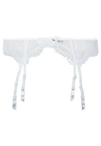 LACE - Strømpeholdere - white