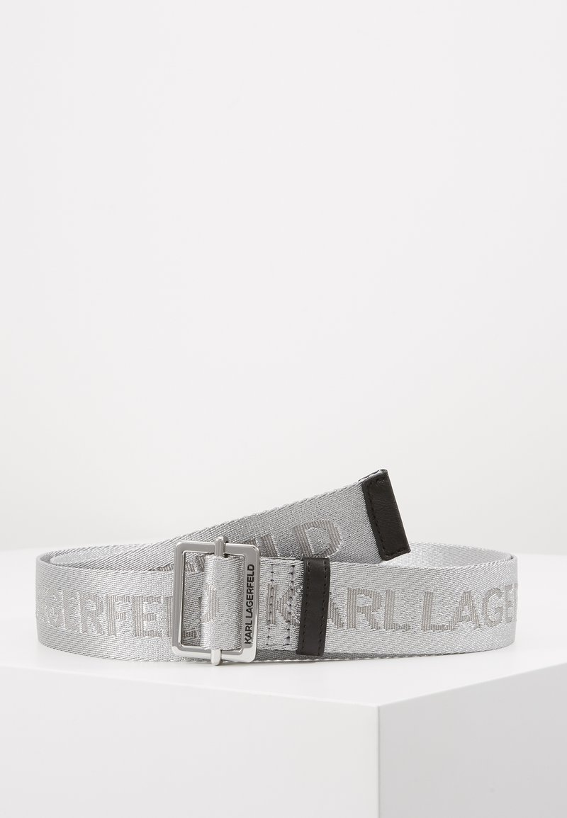 KARL LAGERFELD - Belte - silver