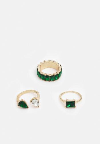 GWARERI 3 PACK - Ring - gold-coloured