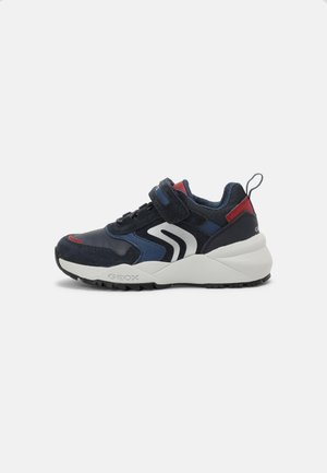 HEEVOK BOY - Sneakers basse - navy/red