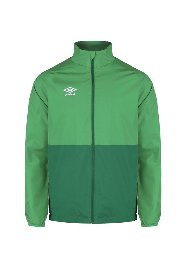 SHOWER  - Veste de survêtement - tw emerald / verdant green