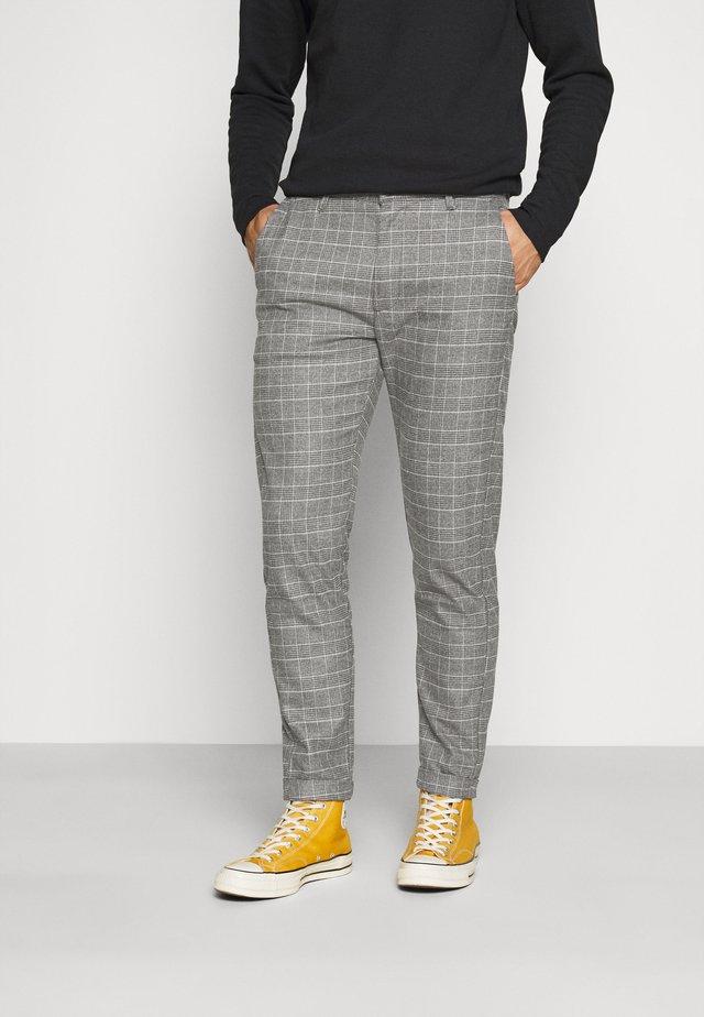 ROME SOFT PANT - Pantalon classique - grey