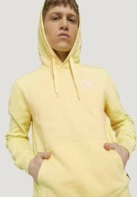 TOM TAILOR DENIM - Hoodie - cream yellow melange - 3