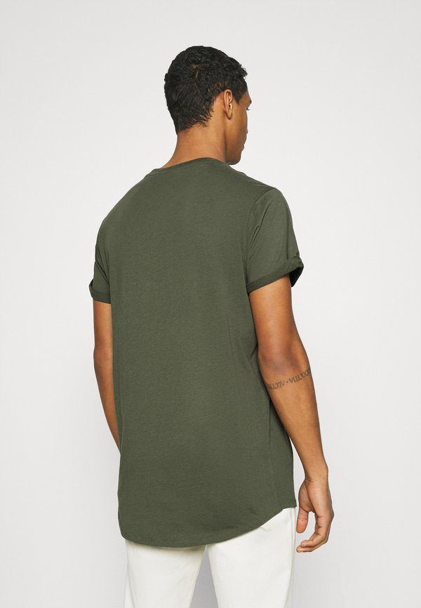 G-Star LASH 2 PACK - T-shirt basic - wild rovic/ciemnozielony Odzież Męska CEPK