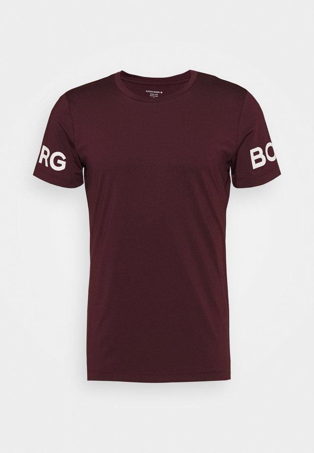 BORG TEE - T-shirt print - winetasting