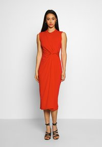 WAL G. - SIDE KNOT DRESS - Cocktailkjole - red - 0
