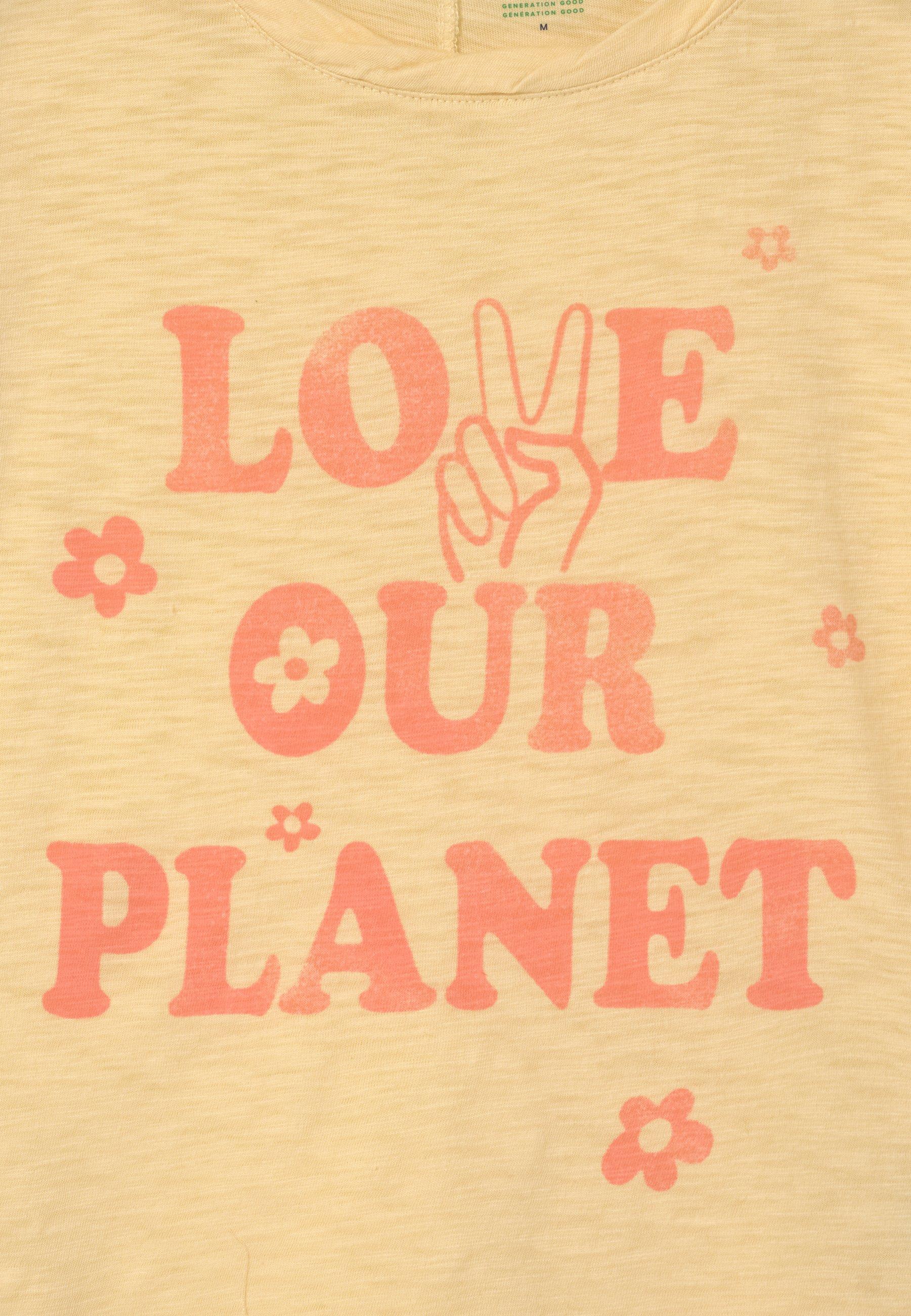 Kids GIRL GREEN LABEL TEE - Print T-shirt