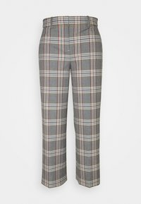 J.CREW - PEYTON PANT IN PLAID - Trousers - bronzed ochre/rust - 5