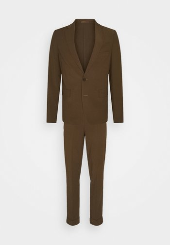 THE RELAXED SUIT  - Kostym - brown