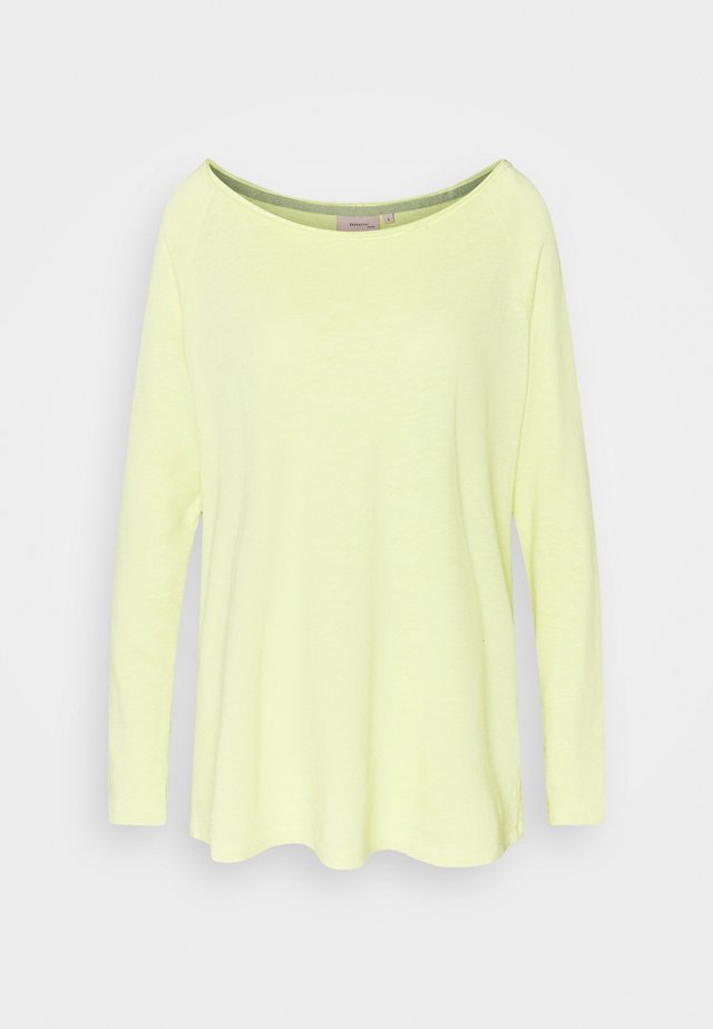 ESSENTIAL HEAVY SLUB - Long sleeved top - endive