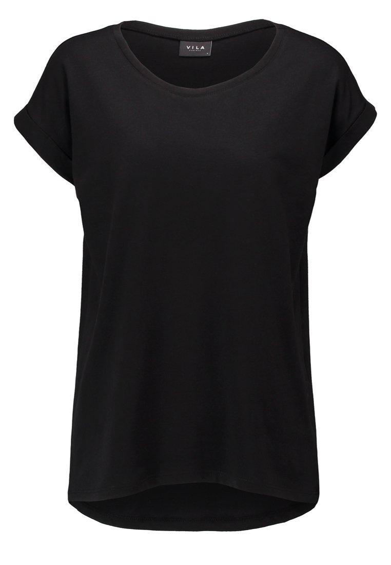 Vila Vidreamers Pure - T-shirts Black/svart