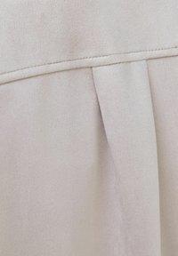 Bershka - Faux leather jacket - stone - 5