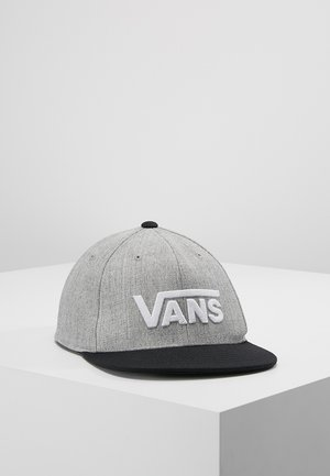 DROP  - Cap - heather grey/black