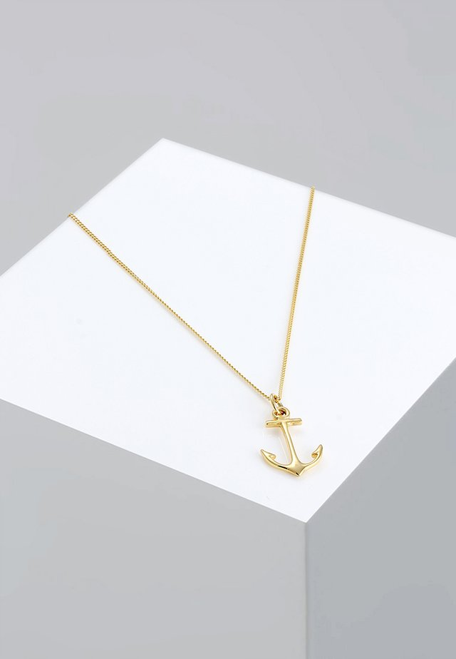 ANKER - Necklace - gold-coloured