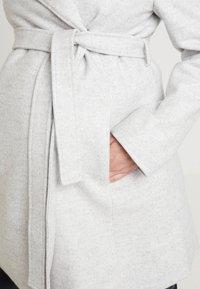 Anna Field MAMA - Cappotto classico - light grey melange - 5