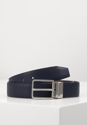 SET - Belt - dark blue/dark brown