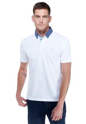 VIETRI CON ORLO A MM - Polo shirt - bianco