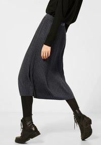 Street One - Pleated skirt - grau - 3