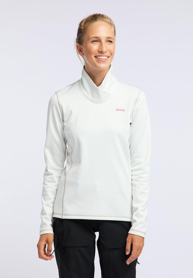 TEMPER - Maglietta a manica lunga - foggy white