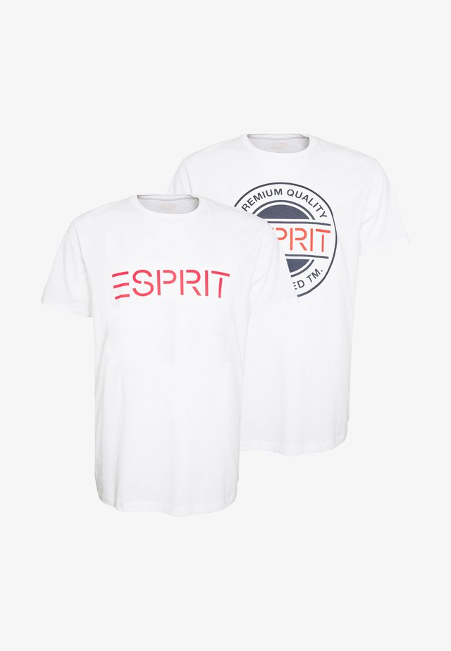 ICON 2 PACK - Print T-shirt - white