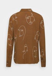 ICHI - IHCARISSA - Button-down blouse - brown - 1