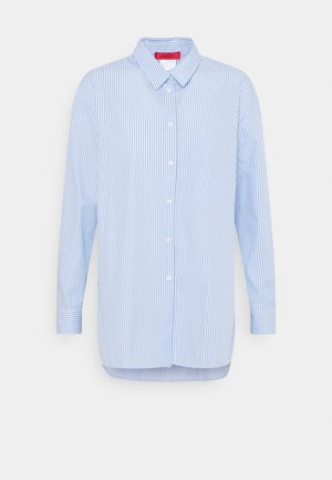 BARI - Button-down blouse - light blue