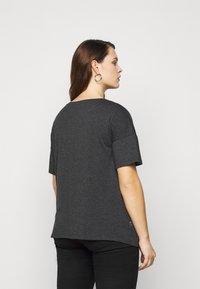 Evans - BLING HEART TEE - Print T-shirt - grey - 2