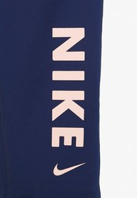 Nike Performance - Legging - blue void/track red/washed coral - 3