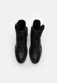 ALDO - STEURSTRAAT - Lace-up ankle boots - black - 3
