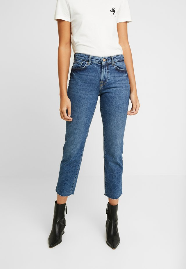 PCHOLLY STRAIGHT  - Jeans a sigaretta - blue denim