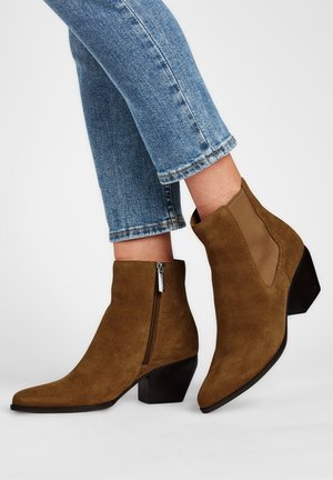 SCAVO - Ankle boots - sandfarben