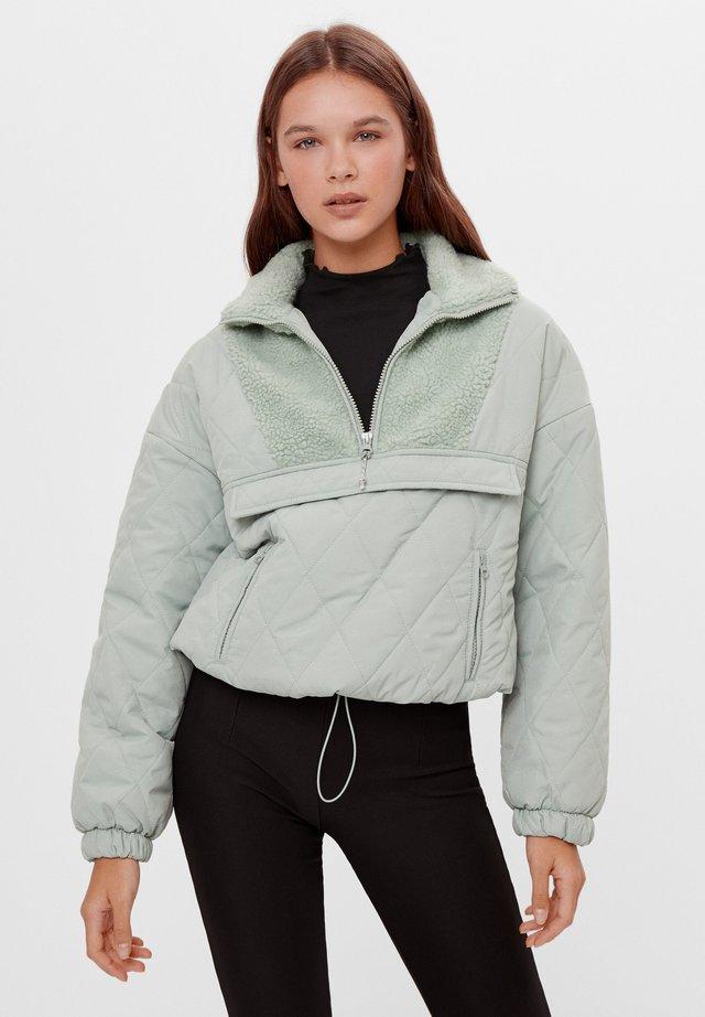 Veste mi-saison - turquoise