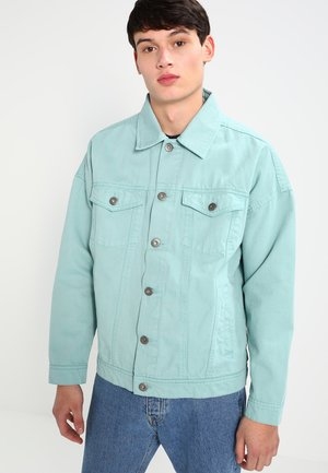 OVERSIZE FIT - Spijkerjas - mint blue