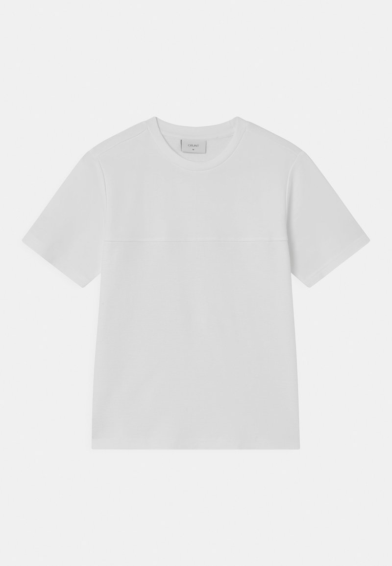 Grunt - QUILT - Print T-shirt - white