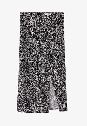 CARMEN - A-line skirt - blanc cassé