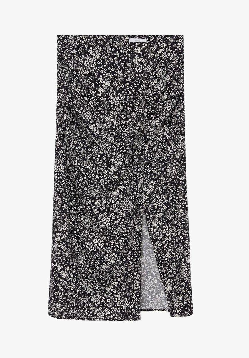 Mango - CARMEN - A-line skirt - blanc cassé