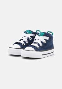 Converse - CHUCK TAYLOR ALL STAR STREET SEASONAL UNISEX - High-top trainers - midnight navy/court green/digital blue - 1
