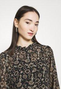 ONLY - ONLAMBRE SHORT DRESS  - Day dress - black - 4