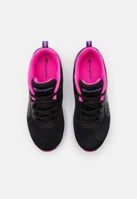 Champion - LOW CUT SHOE BOLD  - Sports shoes - black/fucsia - 3