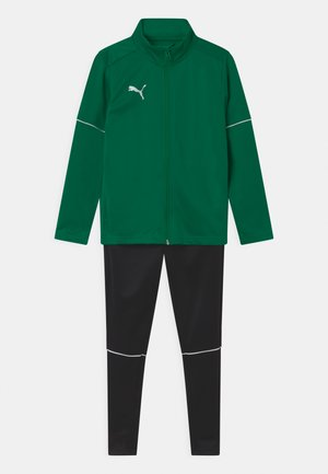 TEAM GOAL CORE SET UNISEX - Chándal - pepper green/puma black