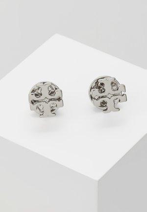 LOGO EARRING - Orecchini - silver-coloured