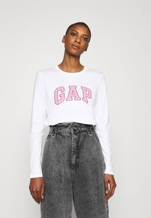 EASY TEE - Long sleeved top - fresh white