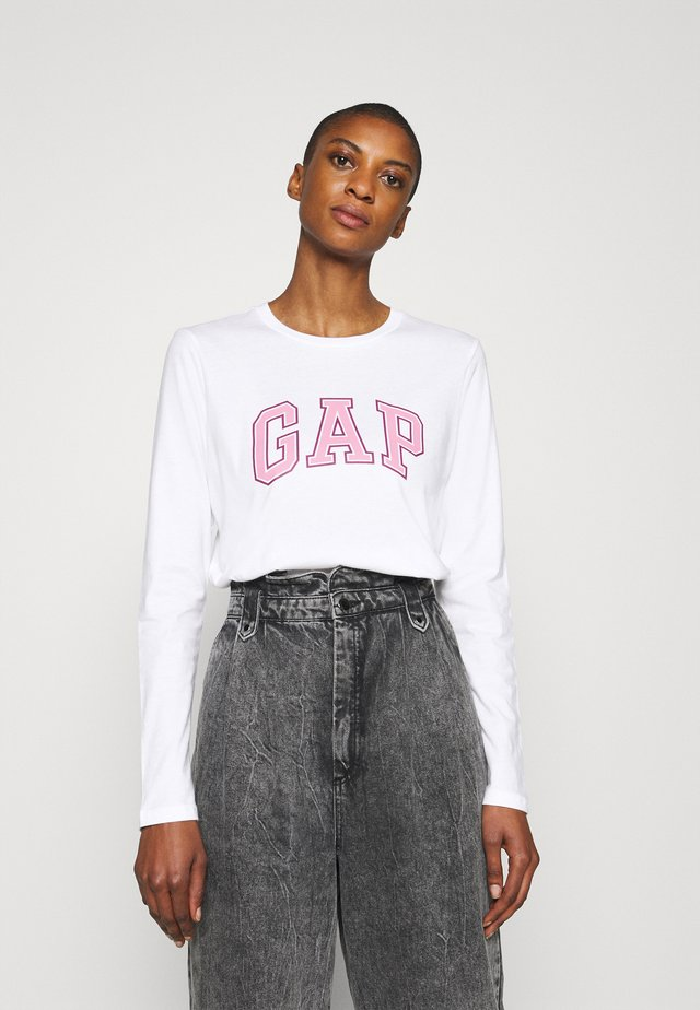 EASY TEE - T-shirt à manches longues - fresh white
