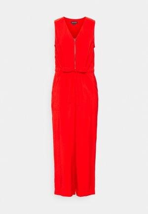 COREY ZIP FRONT CASUAL - Jumpsuit - red