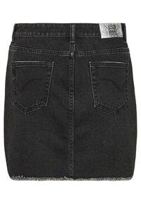 ONLY - ONLSKY - Denim skirt - black - 1