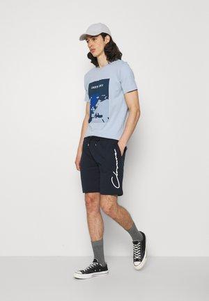 SCRIPT 2 PACK  - Pantalon de survêtement - navy/white