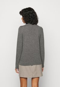 Repeat - SWEATER - Svetr - med grey - 2