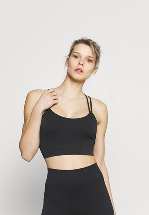 SEAMLESS SET - Top - black