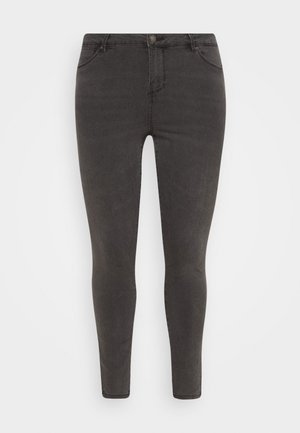 VMTILDE ANKLE ZIP  - Slim fit jeans - medium grey denim