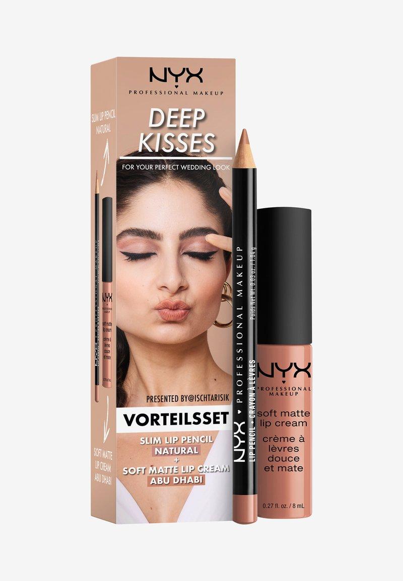 Nyx Professional Makeup - LIPS TO KISS WEDDING SET - Makeup set - lips to kiss